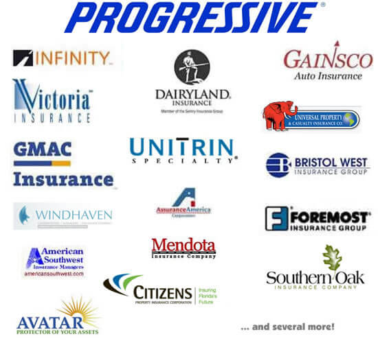 Wonderful Insurance Companies  Progressive  Infinity  GMAC